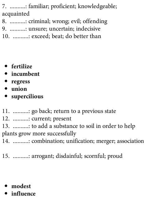 آزمون لغت آیلتس 2